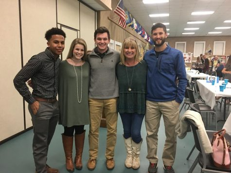 Panthers Involved in FCA's Coastal Area Banquet