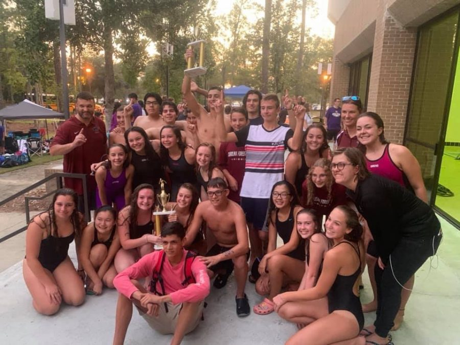 CFHS Swim Team – Region Champs!