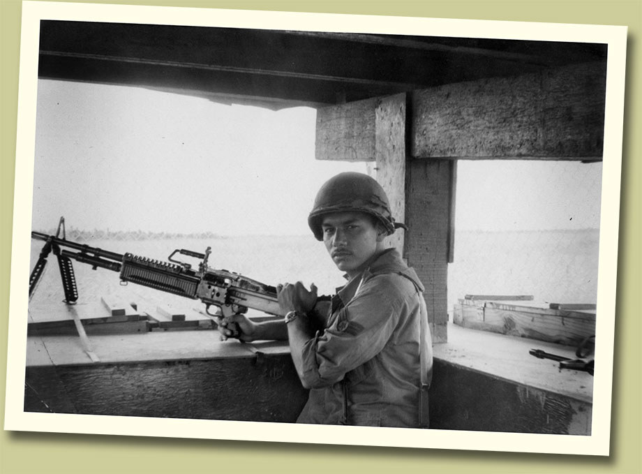 Hector Ramos, grandfather of Isabella Ramos,, served our country with pride.