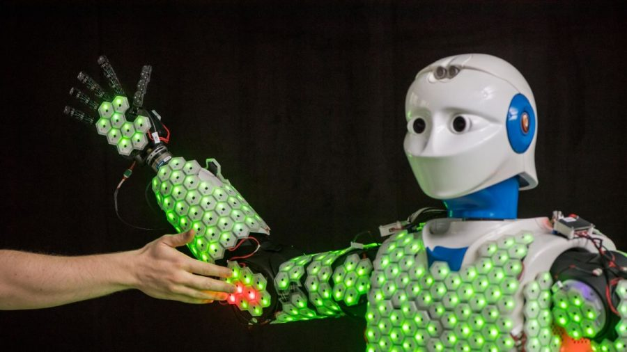 Robots Gain A Sense of Touch