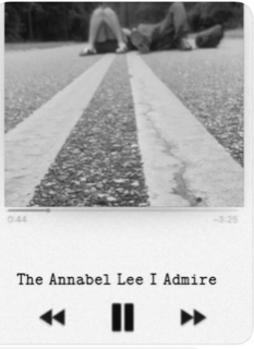 """The Annabel Lee I Admire"""