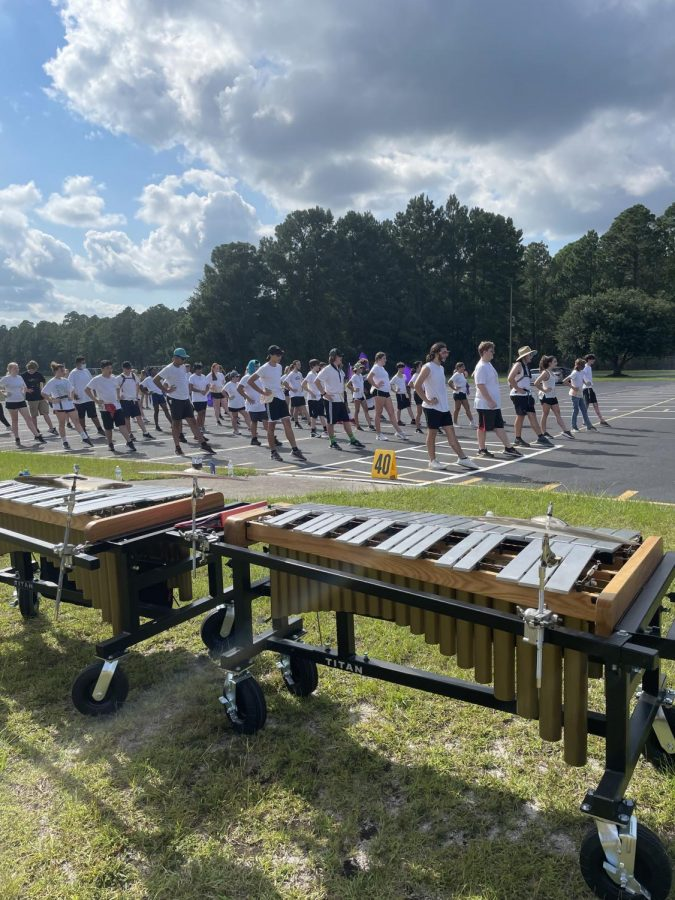 Marching Band During COVID